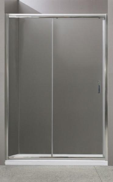 Душевая дверь 135 см BelBagno UNO-BF-1-135-C-Cr прозрачное