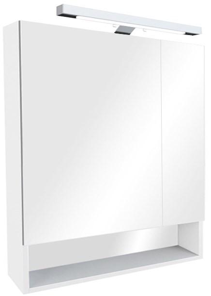 цена Зеркальный шкаф белый 80х85 см Roca The Gap ZRU9302750 в интернет-магазинах