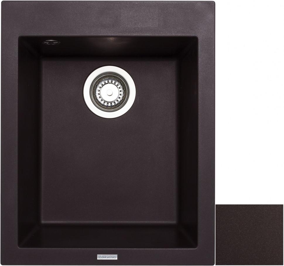 Кухонная мойка марон Longran Cube CUG410.500 - 93