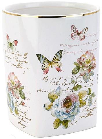 Мусорное ведро Avanti Butterfly Garden 13882F цены