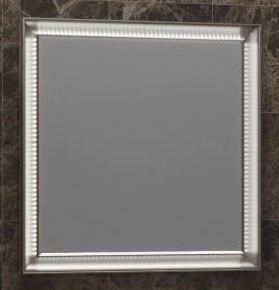 Зеркало 90х100 см белый глянец Opadiris Капри Z0000002339 зеркало opadiris z0000013835