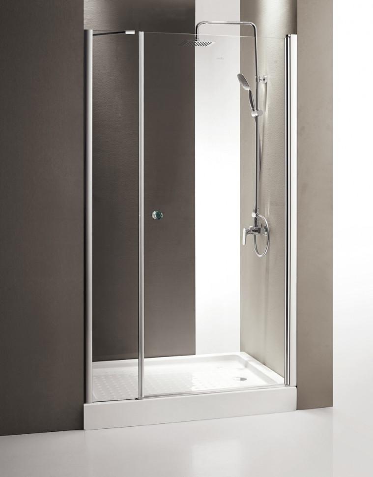 Душевая дверь распашная Cezares Triumph 110 см текстурное стекло TRIUMPH-D-B-11-30+80-P-Cr-R душевая дверь в нишу cezares triumph triumph d b 11 40 60 p cr r