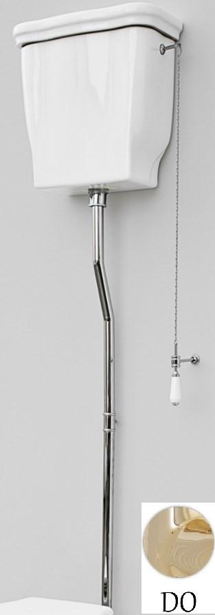 Механизм слива с высокой трубой бронза Artceram Hermitage HEA00673/EE18oro