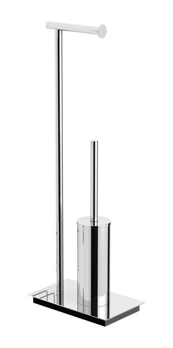 Комплект для туалета напольный Langberger 70281 стойка напольная langberger 70281 хром