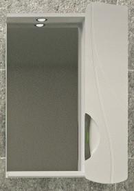 Зеркальный шкаф 50х76,8 см белый R Velvex Belvento Fly zsFLY.50-21.11