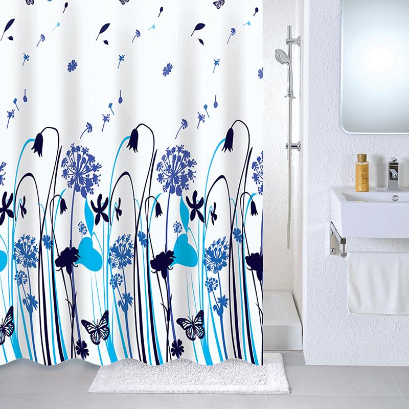 Штора для ванной комнаты Milardo Summer midday 535V180M11 штора для ванны milardo summer midday 180x180 разноцветная