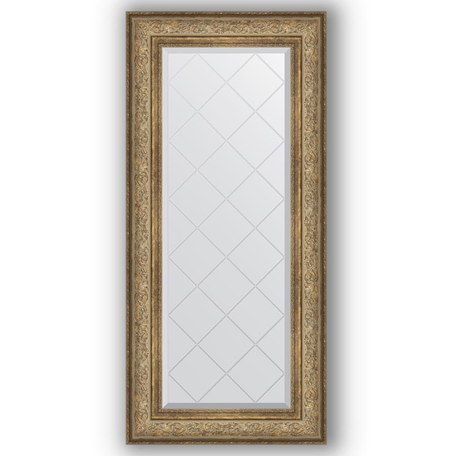 Фото - Зеркало 60х130 см виньетка античная бронза Evoform Exclusive-G BY 4081 зеркало 75х130 см виньетка античная бронза evoform exclusive g by 4230