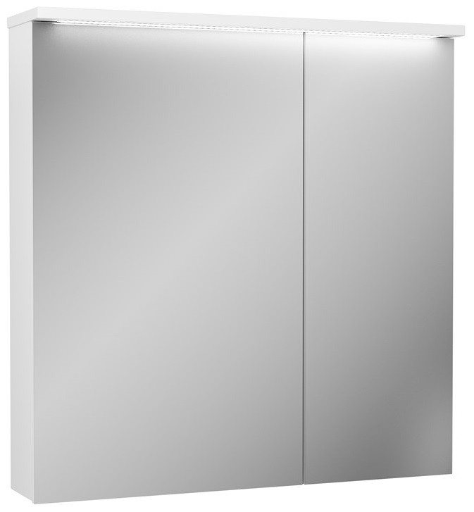 Зеркальный шкаф 80х81,9 см белый OWL 1975 Malaren OW03.11.05