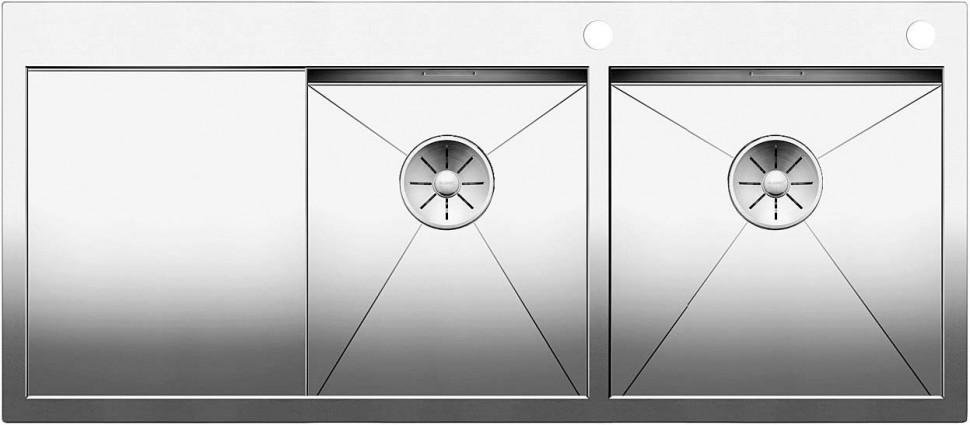 Кухонная мойка Blanco Zerox 8 S-IF/A InFino зеркальная полированная сталь 521649 мойка lexa 8 s alumetallic 514701 blanco