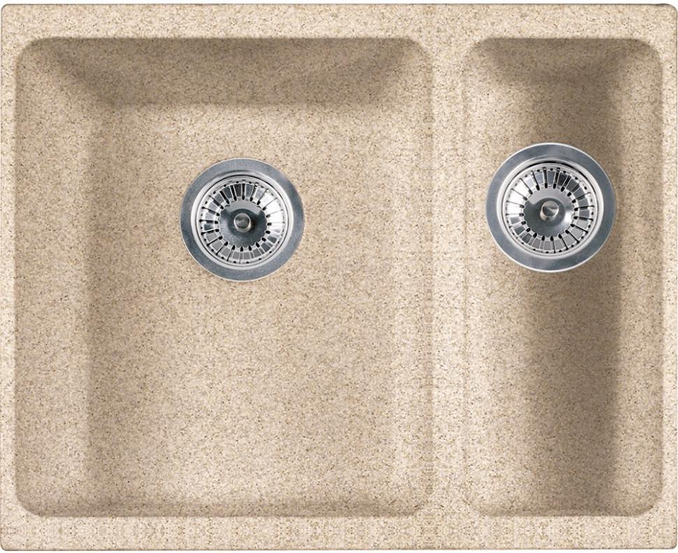 Кухонная мойка Franke Kubus KBG 160 бежевый 125.0176.653 - купити за ціною 32,700.00 руб. в santehmoll.ru | imall.com