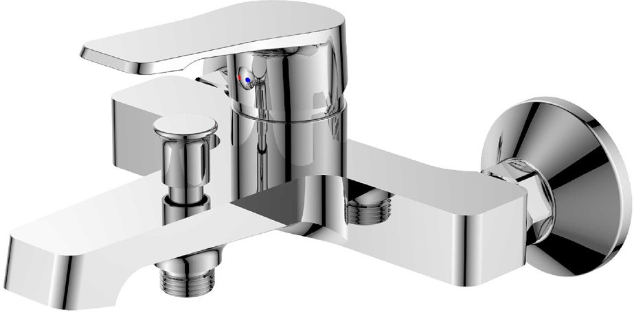 Смеситель для ванны Orange Berti M17-100cr смеситель для душа orange berti m17 200cr