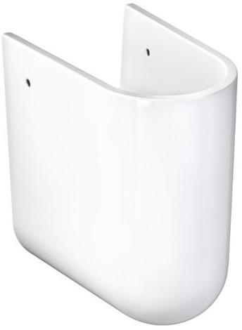 Полупьедестал для раковины белый Gustavsberg Estetic 72970001 полупьедестал gustavsberg artic gb1149310100