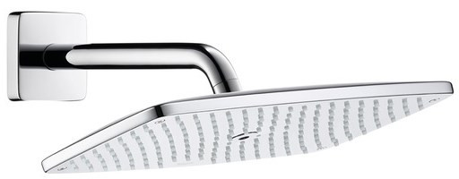 Верхний душ Hansgrohe Raindance E 360 AIR 1jet, держатель 223 мм, ½'27371000 вентилятор gorenje air 360 l