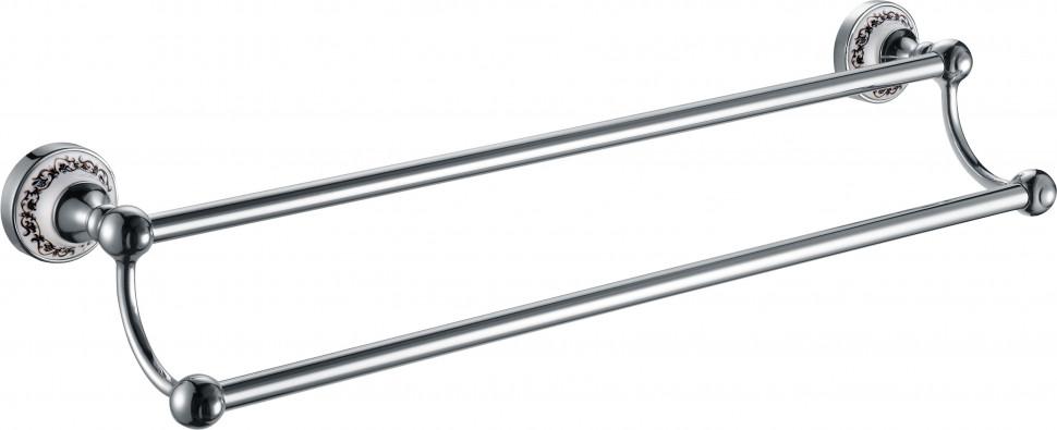 Полотенцедержатель 63,5 см Fixsen Bogema FX-78502 полотенцедержатель двойной поворотный 46 см fixsen bogema gold fx 78502ag