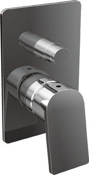 Встраиваемый смеситель для ванны хром, ручка хром Cezares Trend TREND-VDIM-01-Cr смеситель для ванны tsarsberg ручка 1202 ис 240051
