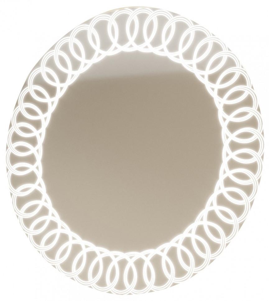 Зеркало 75х75 см Marka One Belle Spirale Light У26301