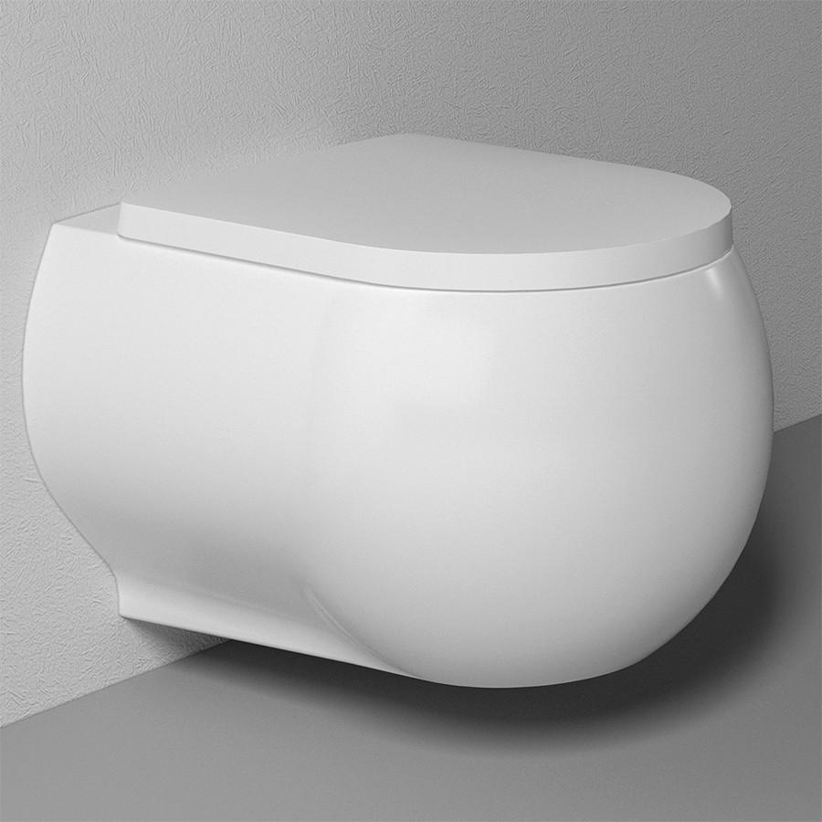 Подвесной безободковый унитаз с функцией биде с сиденьем микролифт Bien Flash FLKA052N1VP1W3000 унитаз биде bien pent pnka052n1vp1w3000 подвесной с сиденьем микролифт