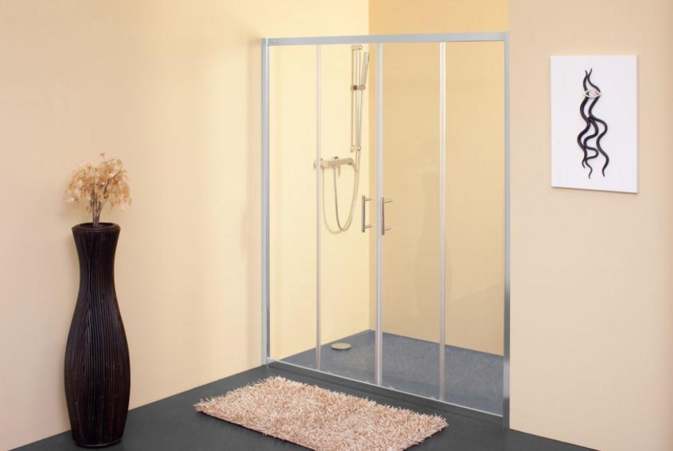 Душевая дверь 170 см Kolpa San Q line TV/4D прозрачное