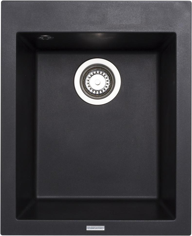 Кухонная мойка оникс Longran Cube CUG410.500 - 10 мойка longran ultra uls615 500 15 10 оникс