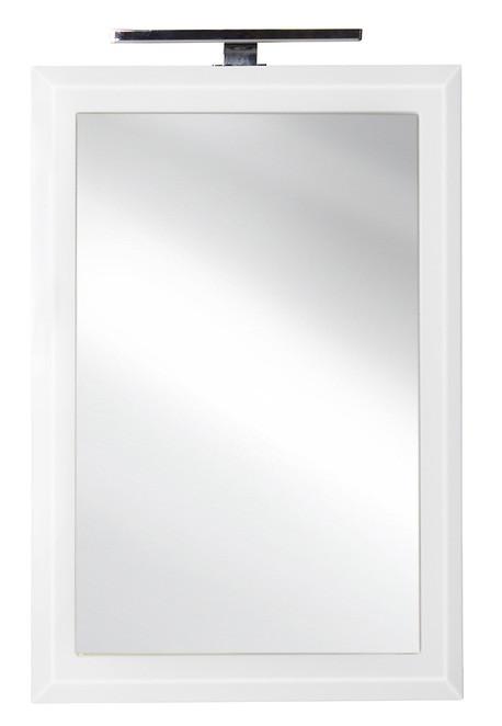 Зеркало 70х80 см белый глянец El Fante Лотос CC-00000386 цена и фото