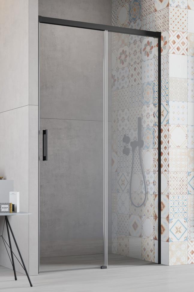 Душевая дверь Radaway Idea Black DWJ 150 R прозрачное душевая дверь radaway idea dwj 150 l прозрачное