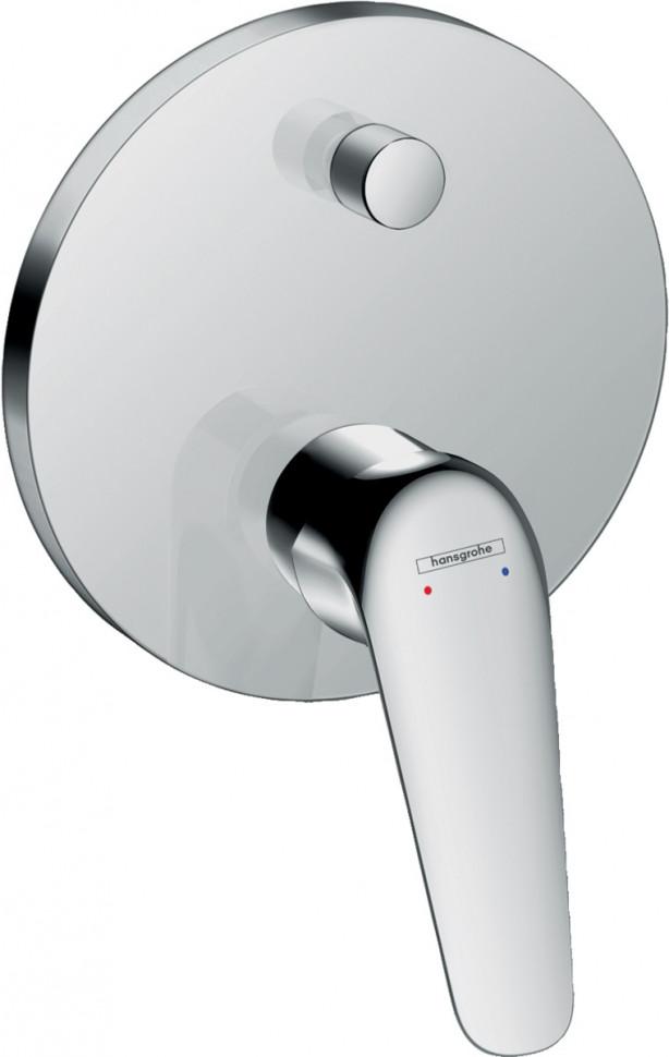 Смеситель для ванны Hansgrohe Novus 71046000 смеситель для ванны hansgrohe novus loop 71340000