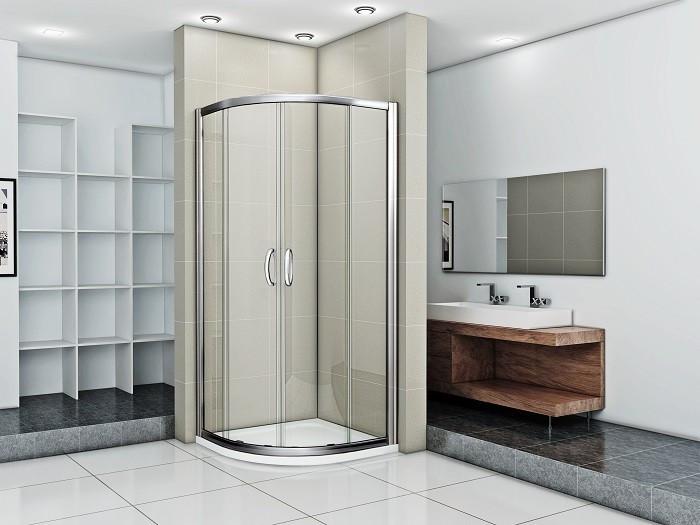 Душевой уголок 100х100 см Good Door Infinity R-100-C-CH прозрачное globo 25835