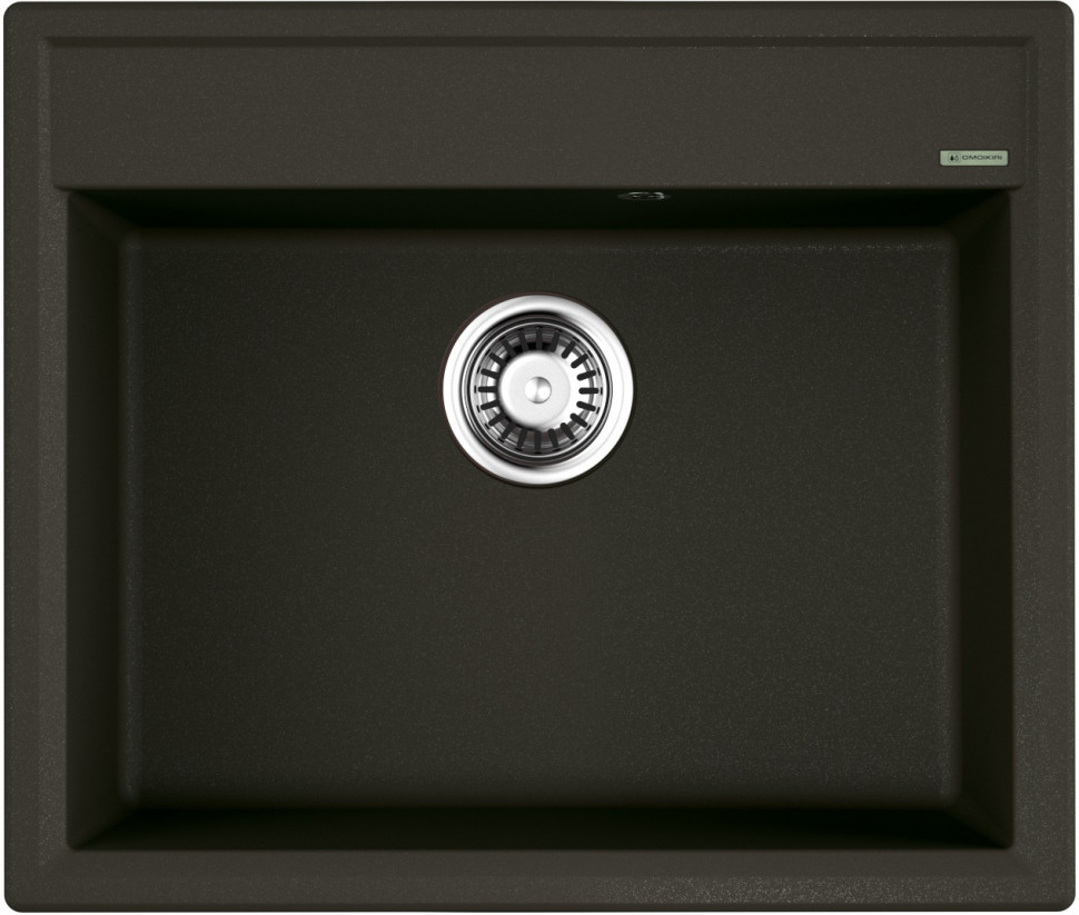 Кухонная мойка темный шоколад Artgranit Omoikiri Daisen 60-DC цены онлайн