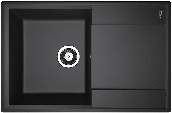 Кухонная мойка Flortek Консул черный 23.020.C0760.102 фото