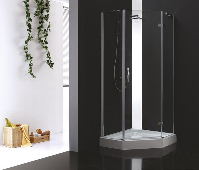 Душевой уголок Cezares Bergamo 100x100 см прозрачное стекло BERGAMO-W-P-1-100-C-Cr-R-IV