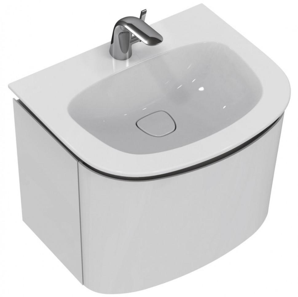 Тумба белый глянец 60 см 1 ящик Ideal Standard Dea T7850WG