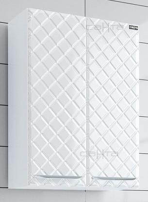 Шкаф подвесной белый глянец Санта Калипсо 417001