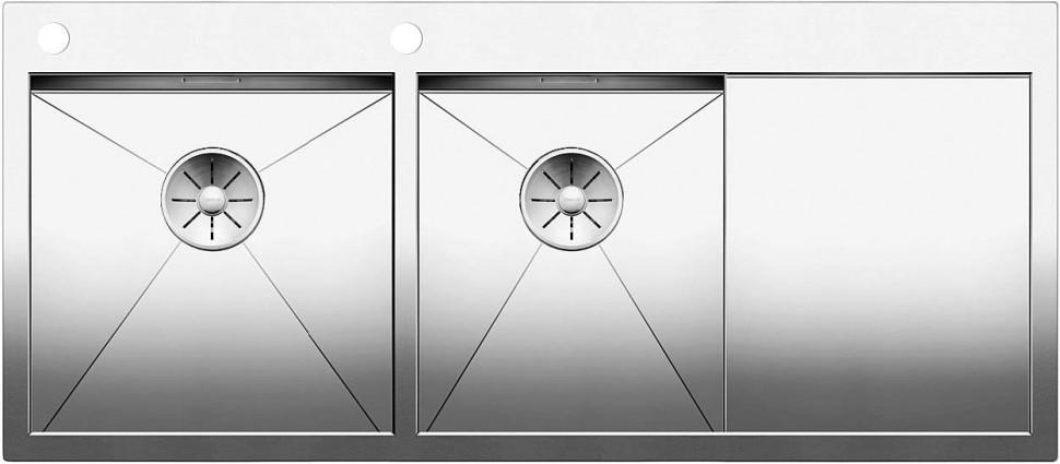 Кухонная мойка Blanco Zerox 8 S-IF/A InFino зеркальная полированная сталь 521650 мойка lexa 8 s alumetallic 514701 blanco