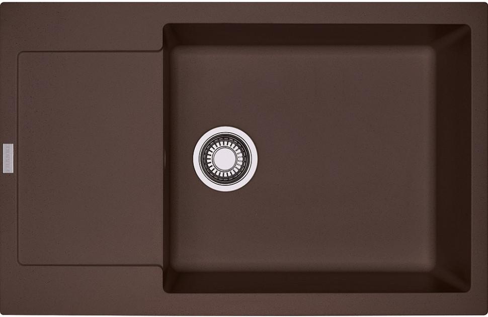 Фото - Кухонная мойка Franke Maris MRG 611D шоколад 114.0369.153 кухонная мойка franke maris mrg 611d шоколад