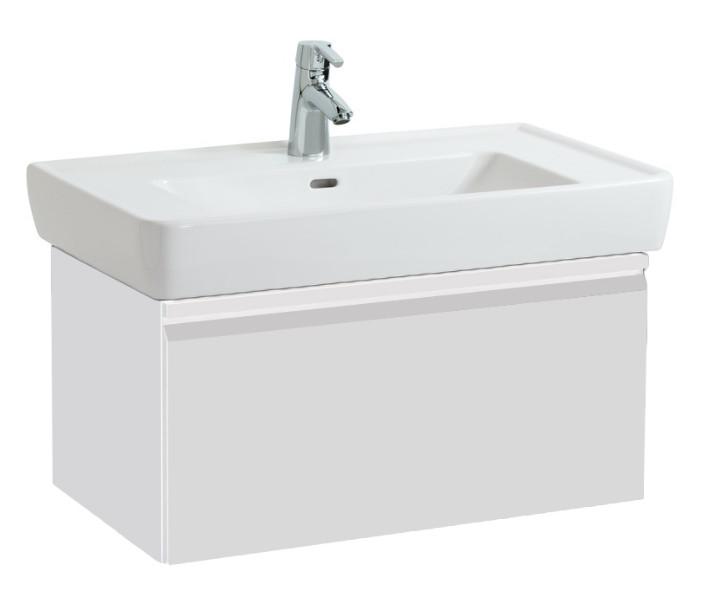 цены на Тумба белый матовый 77 см Laufen Pro A 4830620954631 в интернет-магазинах