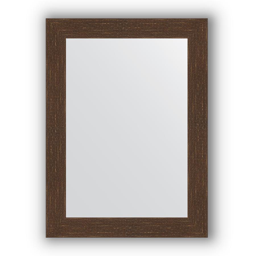 Зеркало 56х76 см мозаика античная медь Evoform Definite BY 3049 зеркало evoform definite 146х56 мозаика античная медь