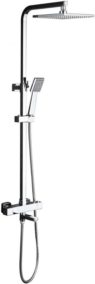Душевая система 200 мм Timo Tetra-Thermo SX-0169/00 душевая система timo lotta thermo sx 2610 color хром