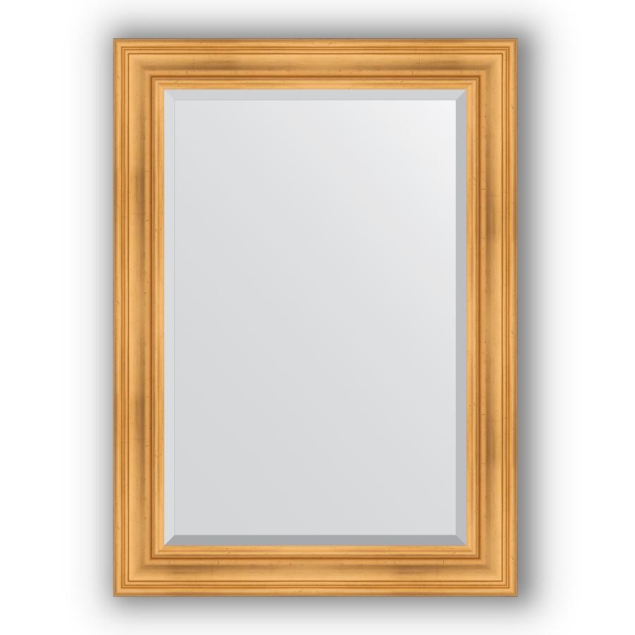 Зеркало 79х109 см травленое золото Evoform Exclusive BY 3470 зеркало evoform exclusive 176х116 травленое золото