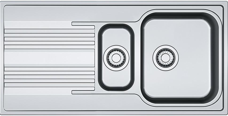 Кухонная мойка Franke Smart SRX 651 полированная сталь 101.0368.322