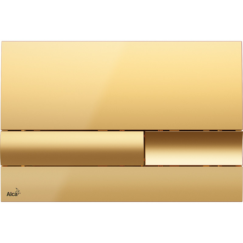 Смывная клавиша золото для двойного смыва AlcaPlast M1745 смывная клавиша золото для двойного смыва alcaplast m75
