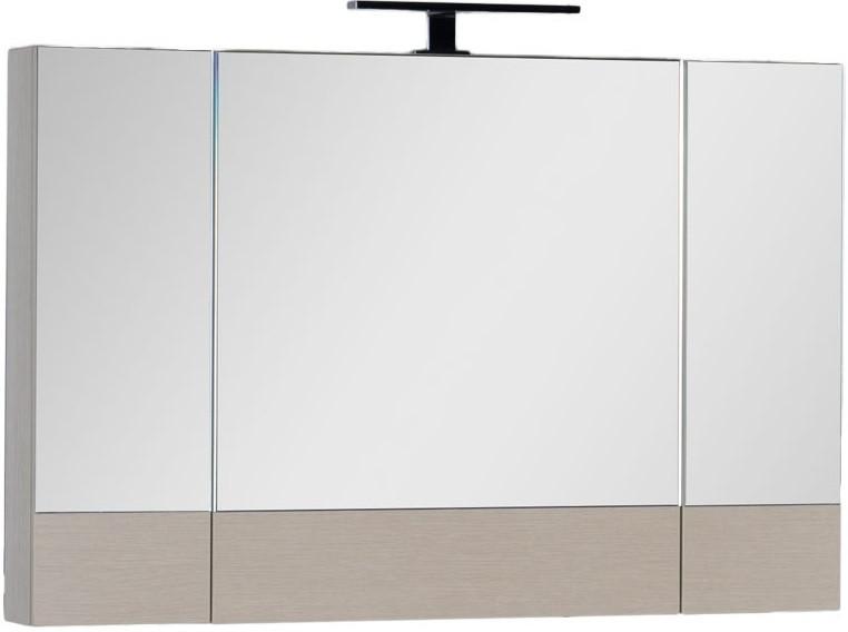 Зеркальный шкаф 100х67 см светлый дуб Aquanet Нота 00158859