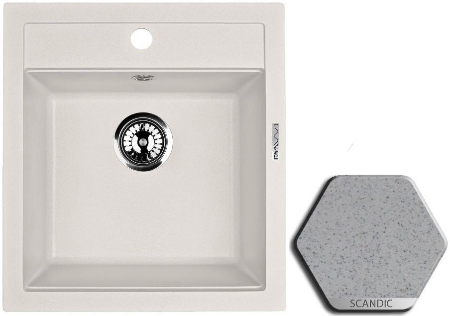 Кухонная мойка SCANDIC Lava Q1.SCA цена и фото