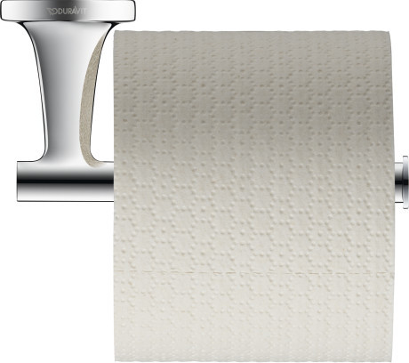 Фото - Держатель туалетной бумаги Duravit Starck T 0099371000 полка для полотенец 61 см duravit starck t 0099444600