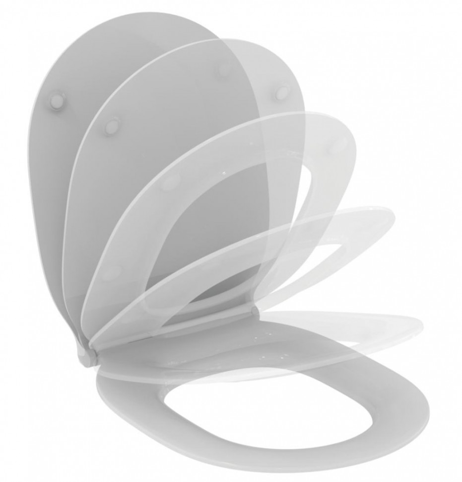 Крышка-сиденье с микролифтом Ideal Standard Connect Air E036601