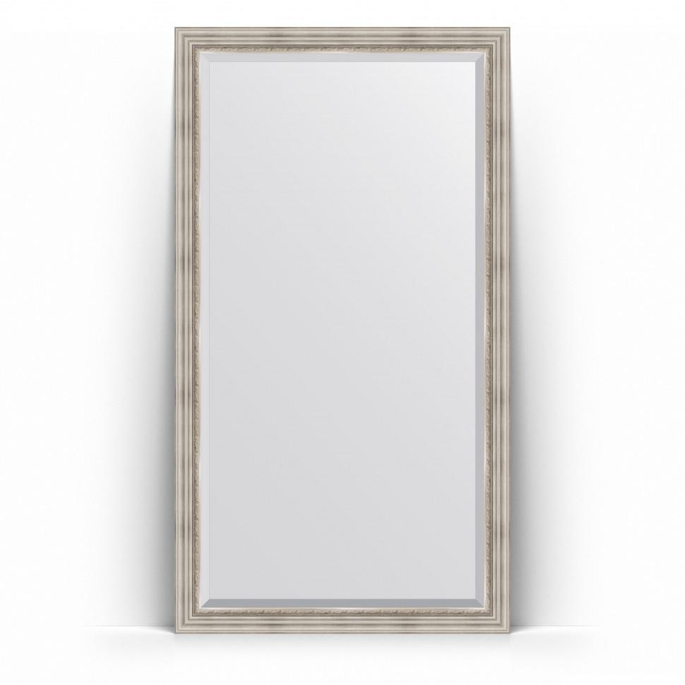Фото - Зеркало напольное 111х201 см римское серебро Evoform Exclusive Floor BY 6158 зеркало напольное 111х201 см чеканка золотая evoform definite floor by 6020