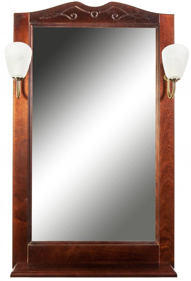 Зеркало 75х102 см орех антикварный Orange Villi Villi-60ZE