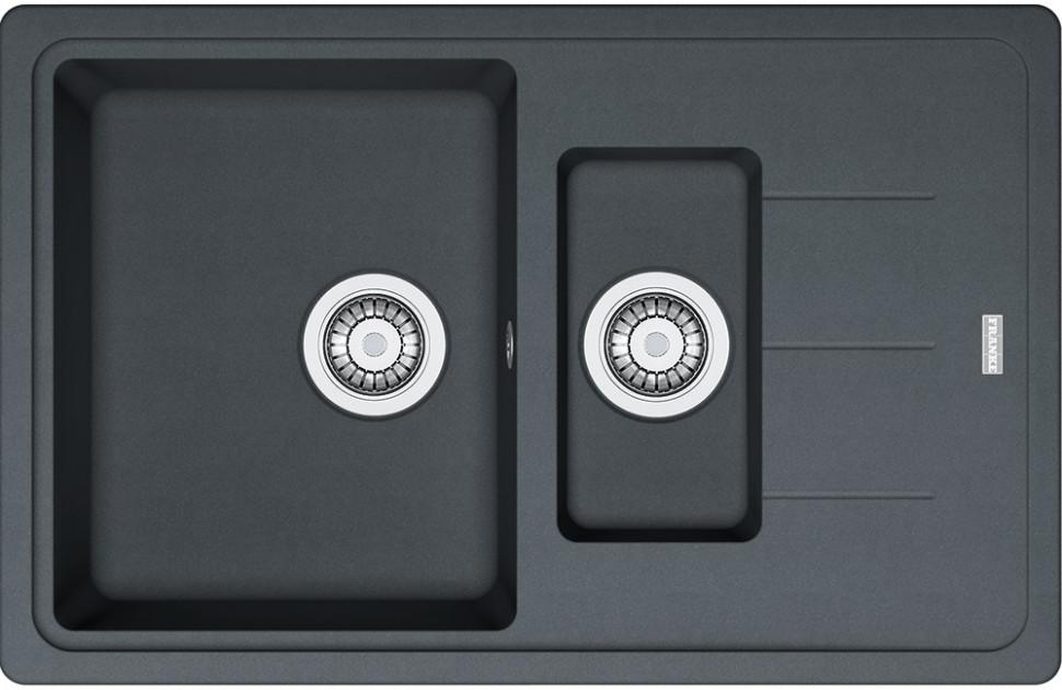 Кухонная мойка Franke Basis BFG 651-78 графит 114.0280.884 franke bfg 651 vanilla