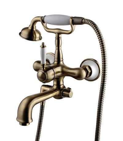 Смеситель для ванны с душем Lemark Villa LM4812B lemark смесительlemark pallada lm2602c для ванны с душем