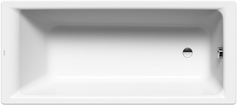 Стальная ванна 180х80 см Kaldewei Puro 653 с покрытием Easy-Clean керамическая плитка creto aurora peas 00 00 5 17 00 01 2420 настенная 20х60 см