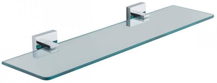 Полка стеклянная 52 см Fixsen Metra FX-11103